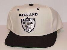 Vintage 90's NFL Oakland RAIDERS STARTER SnapBack HAT Cap NWOT NEW Old Stock