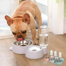 Pet Water Drinking Fountain Dispenser Bottle Cats And Dogs Flowing Feeding Bowl