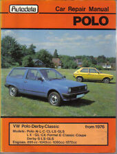 VW Volkswagen Polo & Derby from 1976 Autodata Car Repair Manual