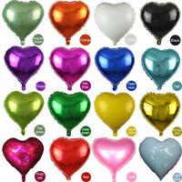 Aluminio Forma Corazón Globo Para Fiesta Cumpleaños,Aniversarios,Decoración,