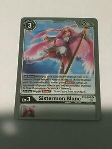 BT6-082  SISTERMON BLANC  - Rare - Digimon TCG!