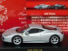 Kyosho Ferrari 458 Italia Silver 1:64 Mint & Boxed Collection 8 Neo