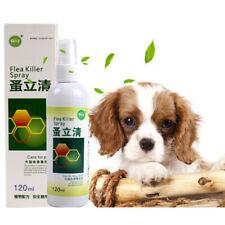 120ml Dog Cat Anti-flea Drops Flea Lice Insect Killer Dog Cat Puppy Treatment