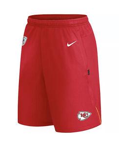 Nike On Field Apparel Kansas City Chiefs Official Team Practice Shorts Mens XL