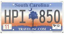 *99 Cent Sale* 2012 South Carolina Palm Tree Sunrise License Plate #Hpi850 Nr
