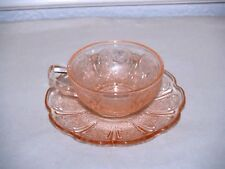 Pink Cherry Blossom Child Cup and Saucer Set
