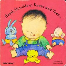 CLASSIC BOARD BOOK - HEAD, SHOULDERS, KNEES AND TOES KUBLER CHILD'S PLAY TODDLER