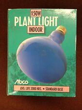 3 ABCO 150W INDOOR PLANT LIGHT 03177 GREENER PLANT 2000 HOURS STANDARD BASE R40