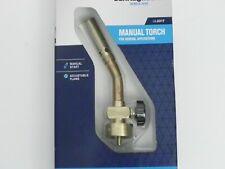 Bernzomatic Manual Torch Head 12 Wide Pencil Flame Adjustable Knob Ul2317 New