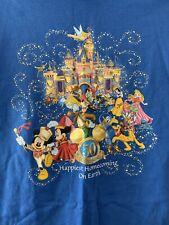 Disneyland Resort T Shirt Sz M Happiest Homecoming 50th Anniversary Gold