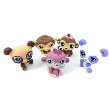 LITTLEST PET SHOP Toys PANDA BEAR & MONKEY Lot Of 5 # 501 1493 359 574 776 LPS