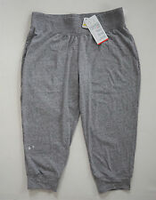 NWT Authentic UNDER ARMOUR Charged Cotton Semi-Fitted Capri Yoga Pants M