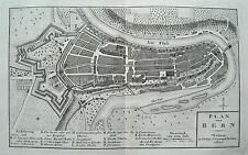 Bern Berna Berne Aar Schweiz echter alter seltener Kupferstich 1807