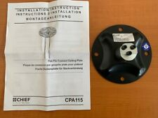 CHIEF CPA115 Flat Pin Connect Ceiling Plate