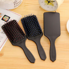 New Professional Healthy Paddle Cushion Hair Massage Brush Hairbrush Comb Scalp