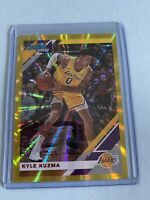 Kyle Kuzma 2019-20 Donruss Gold # 8/25 Lakers SSP