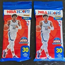 Panini 2020-21 NBA Hoops Basketball Cello Pack (30 Cards)