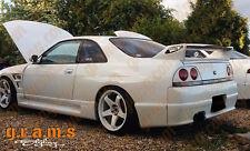 Nissan Skyline R33 GTR Style Rear Fenders +50mm for Wide Body Conversion V6
