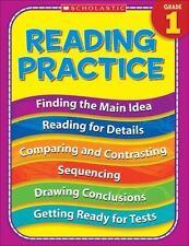 1st Grade Reading Practice (Practice (Scholastic)), , Good Book