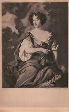 PLEASE READ ! Eleanor Gwyn Actress Fave of Charles II London - Standard Postcard