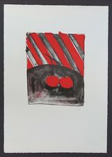 Thomas Schütte Kirschen Farblithographie 1986 handsigniert