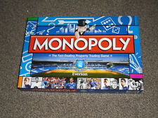 MONOPOLY GAME : EVERTON FOOTBALL CLUB 2011 RARE EDITION - IN VGC (FREE UK P&P)