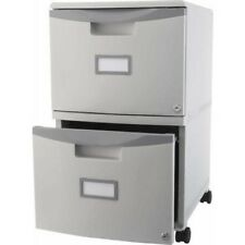 File Cabinet 2 Drawer Mobile With Lock Casters Legal Letter Storage Office Home