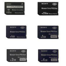 Sony Memory Stick PRO Duo 32MB 256MB 1GB 2GB 4GB MagicGate Card