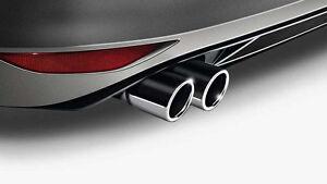 VW Endschalldämpferblende Chrom Golf Jetta 5C5071911C