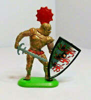 Britains foot soldier Knight Vintage Figures Toy Soldiers 1967 Version 1