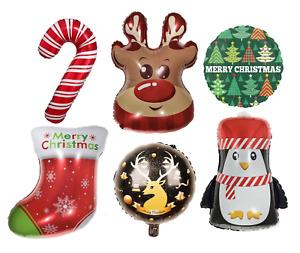 Christmas Santa Reindeer Tree Snowman Party Decoration Balloon