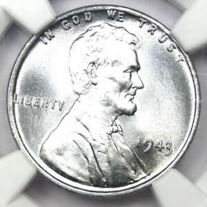 1943 Lincoln Wheat Cent Steel Penny 1C - Certified NGC MS68 - $3,200 Value!