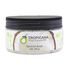Tropicana Virgin Coconut Oil Coconut Body Scrub Skin Care Smooth 250g.