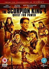 The Scorpion King 4: Quest for Power [DVD] [2015][Region 2]