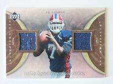 JP LOSMAN UD NFL Artefacts 2007 DUAL Jersey Card PSF-JL #d 276/350 BUFFALO BILLS