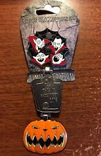JACK PUMPKIN FACE VAMPIRES This is Halloween 2016 Pin Double Hinged LE2000 NBC
