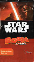star wars boom  trading cards 5  unnopened envelopes stickers Argentina