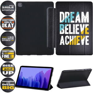 Printed PU Leather Case Cover Stand -Fits Samsung Galaxy Tab A 10.1/A7 10.4 T505