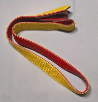 """MILITARY GOLD/RED STRAP 28"""""""