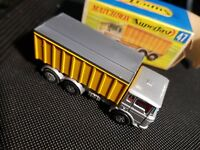 Matchbox Superfast No. 47, DAF Tipper Container Truck, - new Mint.