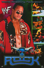 POSTER:WRESTLING: THE ROCK - RED ROBE - WWF  -  FREE SHIPPING !  #3486 RP56 H