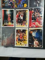 Set Bulk NBA Basketball Cards Sports Memorabilia Collectible Michael Jordan