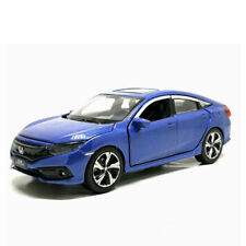 1/32 Honda Civic Model Car Alloy Diecast Toy Vehicle Collection Kids Gift Blue