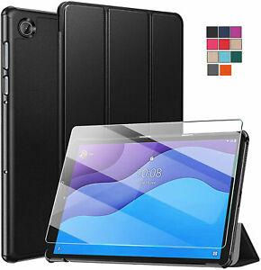 PELLICOLA VETRO + SMART COVER CUSTODIA per Lenovo Tab M10 HD 2nd Gen TB-X306