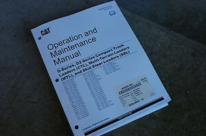 CAT Caterpillar D D2 Series Track Loader Skidsteer Multi-Terrain Operator Manual