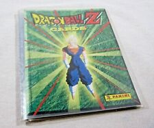 Dragon Ball Z Panini PART 5 GREEN COMPLETE SET + Binder 100/100
