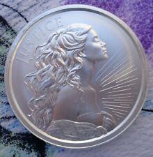 1 oz. 2019 JUSTICE - Silver Shield BU rounds .999 fine silver
