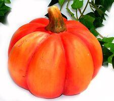 Trendy XL Deko Kürbis orange 12x14 cm HERBST DEKO Halloween Händler Posten 5763