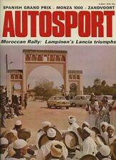 Autosport 4th 1972 de mayo * Monza 1000 km 's & GP Español *