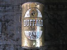 Buffalo flat top beer can.Sacramento, Calif.